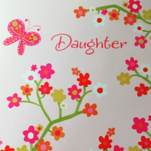 To My Daughter, Happy Mother's Day