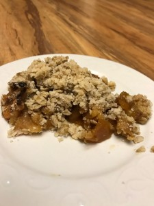 Baked Apple Crisp form Sarah L Cooks Kitchen