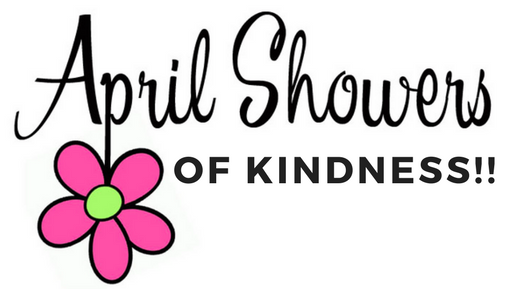 April Showers of Kindness Sarah L Cook